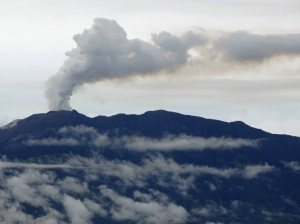 Active Turrialba Volcano, Costa Rica
