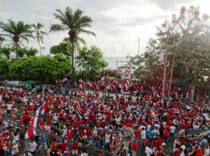 Costa Rica World Cup celebrations